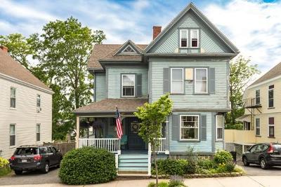 Beverly Single Family Home Under Agreement: 8 Highland Ave