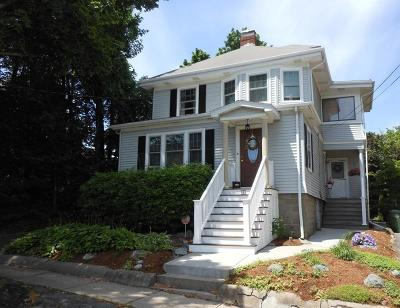 Watertown MA Single Family Home Under Agreement: $700,000