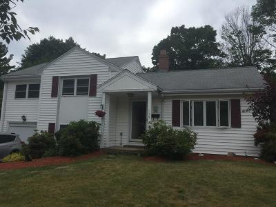 Abington Single Family Home Under Agreement: 135 Wyman Road