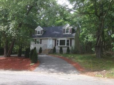 Billerica Single Family Home Under Agreement: 15 Wildbrook Road