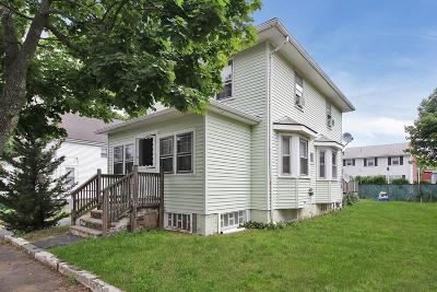 Dedham Single Family Home For Sale: 26 Grandfield St