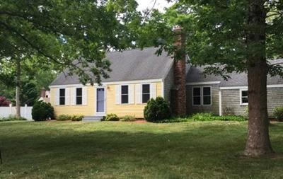 MA-Barnstable County Single Family Home New: 9 Friendly Rd