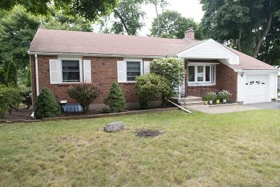 Waltham Single Family Home Under Agreement: 166 Circle Drive
