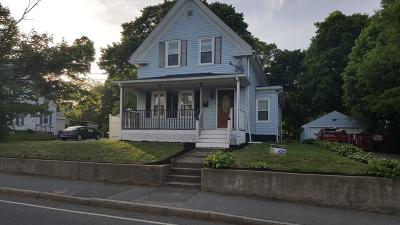 Brockton Multi Family Home Under Agreement: 135 Clifton Ave