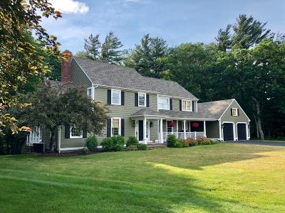 Hanover Single Family Home Under Agreement: 25 Mill Brook Way