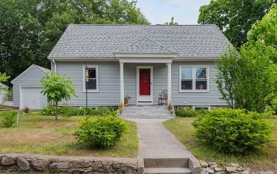 Andover Single Family Home Under Agreement: 5 Walker Avenue