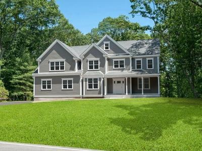 Westwood MA Single Family Home New: $1,460,000