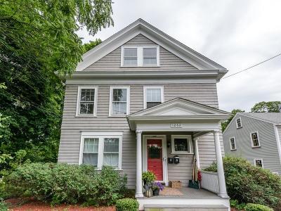Newton Condo/Townhouse For Sale: 1268 Boylston #2