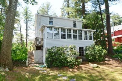 Hudson Single Family Home Under Agreement: 58 Lakeside Ave