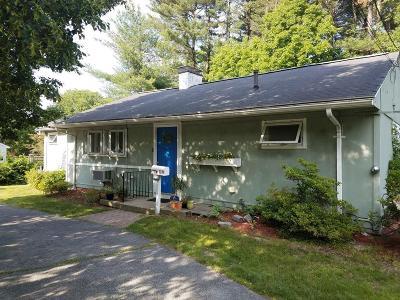 Framingham Single Family Home Under Agreement: 1171 Edgell Road