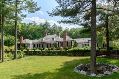 Wellesley Single Family Home For Sale: 150 Pond Rd