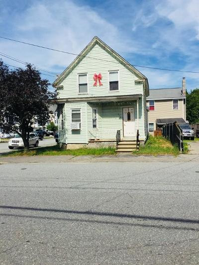 Lowell Single Family Home Under Agreement: 112 Quebec St
