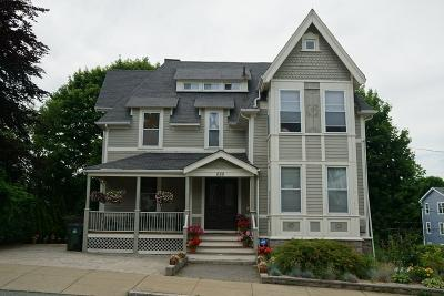 Fall River Multi Family Home For Sale: 222 Belmont Street