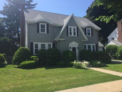 Belmont Single Family Home Under Agreement: 121 Bright Rd