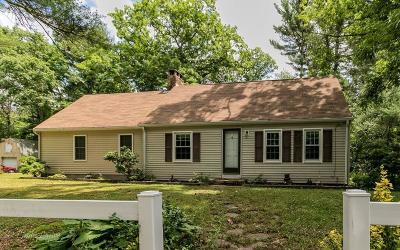 MA-Plymouth County Single Family Home For Sale: 148 Hartley Rd