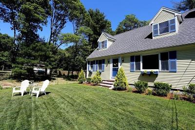 Falmouth Single Family Home Contingent: 319 Sandwich Rd