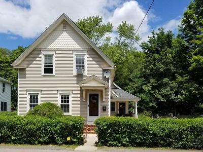 Franklin Single Family Home Under Agreement: 15 Hayward St