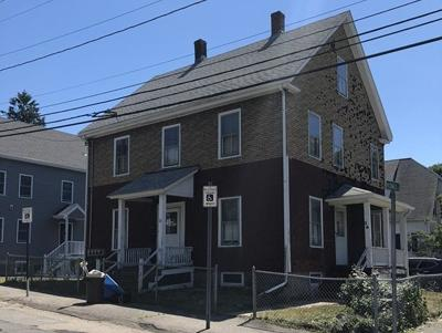 Quincy Multi Family Home Contingent: 32 Station St