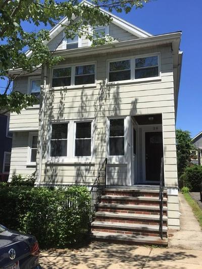Somerville Condo/Townhouse Under Agreement: 26 Irvington Road #1
