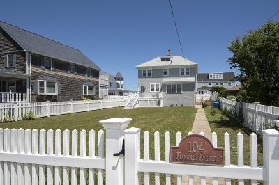 Hull Single Family Home For Sale: 104 Manomet Ave Waterfront