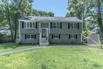 Billerica Single Family Home Under Agreement: 6 Pearl Road
