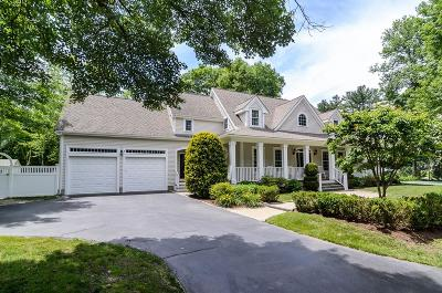 Wellesley Single Family Home For Sale: 3 Oakdale Ave
