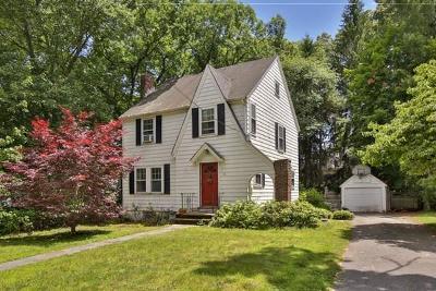 Wellesley Single Family Home Under Agreement: 45 Pine Plain Rd