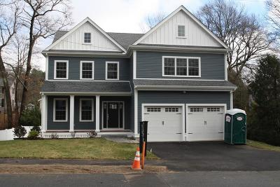 Needham Single Family Home For Sale: 64 Plymouth Rd
