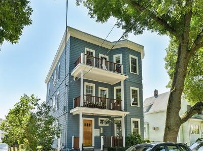 Cambridge Condo/Townhouse Contingent: 57 Jackson St #3