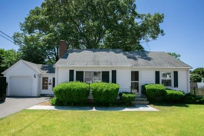 Mansfield Single Family Home Contingent: 115 Park Street