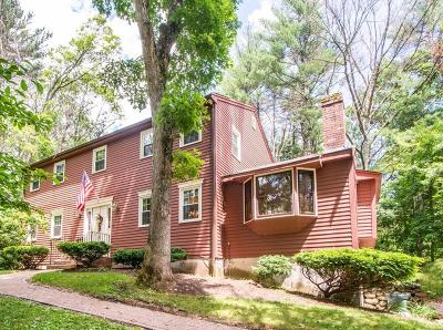 Northborough Single Family Home For Sale: 18 Coolidge Circle