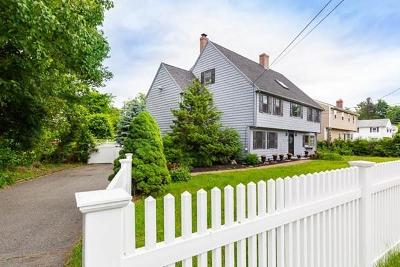 Wakefield Single Family Home For Sale: 100 Farm St