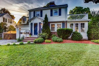 Arlington MA Single Family Home Under Agreement: $1,299,000