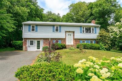 Holliston Single Family Home Under Agreement: 46 Tracy Lyn Rd
