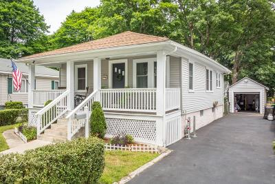 Mansfield Single Family Home Under Agreement: 22 Glen St