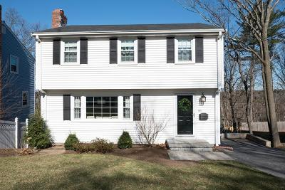 Waltham Single Family Home For Sale: 185 Florence Rd