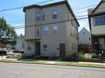 Medford Multi Family Home Under Agreement: 87 Central Ave