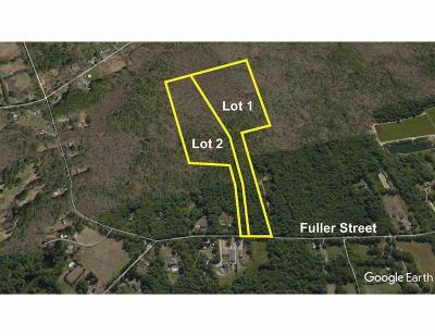 Middleboro Residential Lots & Land For Sale: Fuller Street - Lot 1