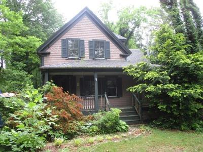 Falmouth Single Family Home Under Agreement: 289 Old Main Road