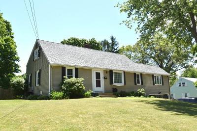 Marlborough Single Family Home Contingent: 37 Benjamin Rd