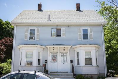Woburn Condo/Townhouse For Sale: 19 Mt. Pleasant Street #1