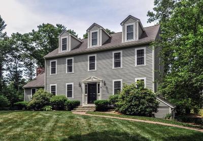 Duxbury Single Family Home For Sale: 6 Apple Hill Lane