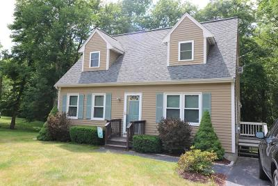 Taunton Single Family Home Under Agreement: 655 Dighton Ave