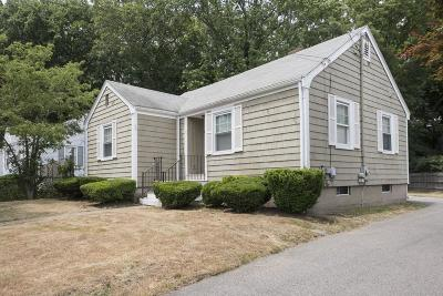 Braintree Single Family Home For Sale: 25 Brookside Rd.