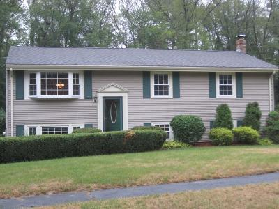Holliston Single Family Home Under Agreement: 53 Gregory Rd