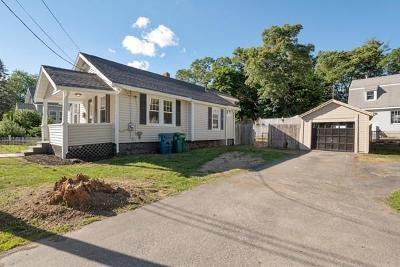 Billerica Single Family Home Contingent: 40 Waterview Ave