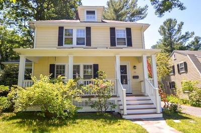 Needham Single Family Home Under Agreement: 51 Lawton Rd