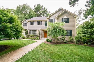Wellesley Single Family Home For Sale: 12 Mansfield Road