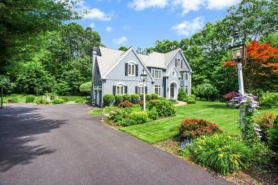 Hopkinton Single Family Home Under Agreement: 44 Wedgewood Dr