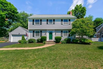 Wellesley Single Family Home For Sale: 68 Chesterton Rd